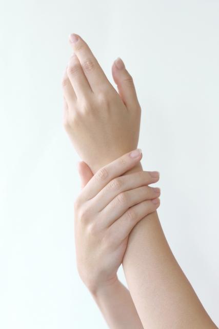 手で触れる癒し
